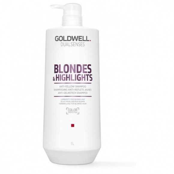 Goldwell Dualsenses Blonde & Highlights Anti-Yellow Shampoo (1000ml)