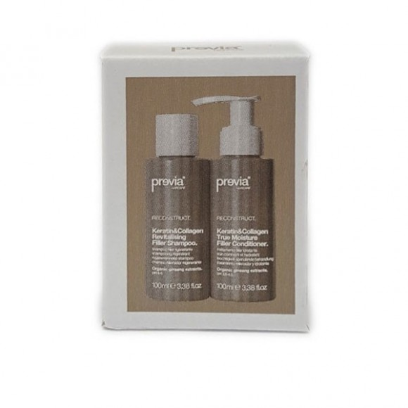 Previa Haircare Reconstruct Travel Kit