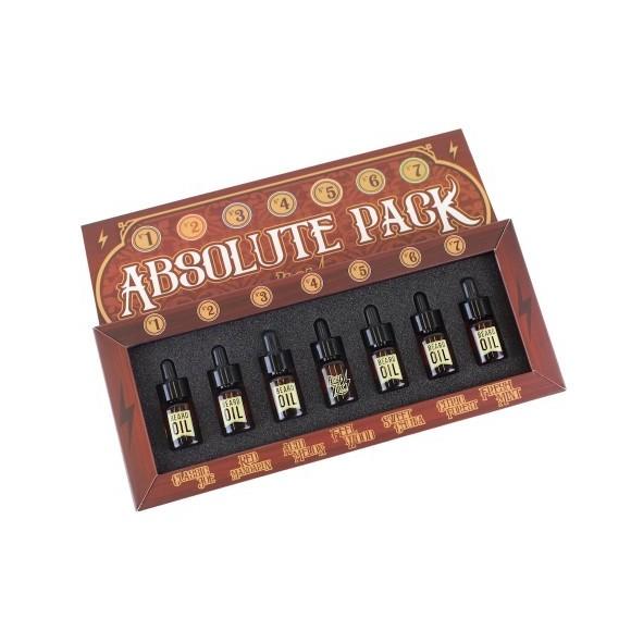 Hey Joe Absolute Pack Beard Oil (7 x 3ml)