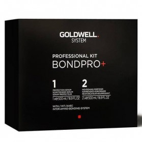 Goldwell Professional Kit Bond Pro 1  Protecion Serum (500ml) 2  Nourishing Fortifier (500ml)