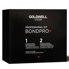 Goldwell Professional Kit Bond Pro 1 Protecion Serum (500ml) 2 Nourishing Fortifier (500ml)