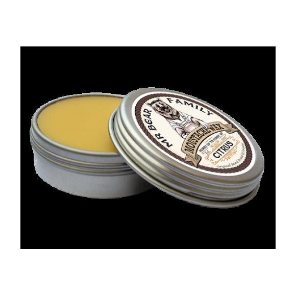 Mr. Bear Family Moustache Wax Citrus (30ml)