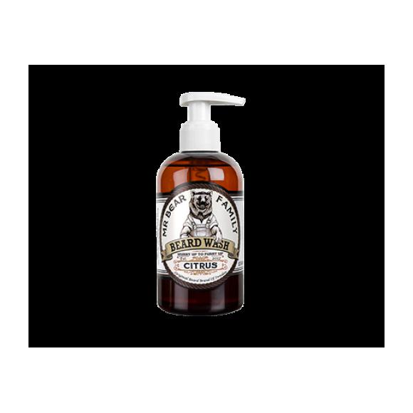 Mr. Bear Family Beard Wash Citrus (250ml)