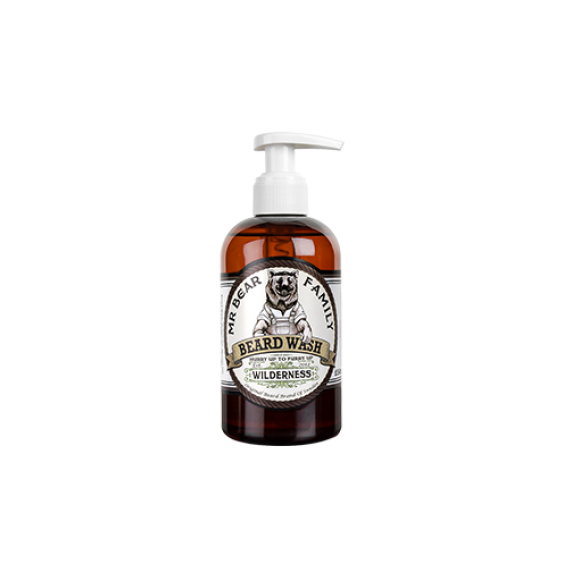 Mr. Bear Family Beard Wash Wilderness (250ml)