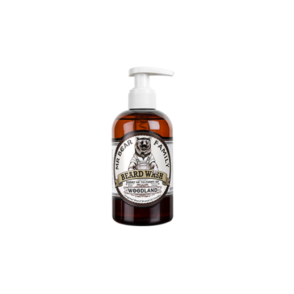 Mr. Bear Family Beard Wash Woodland (250ml)