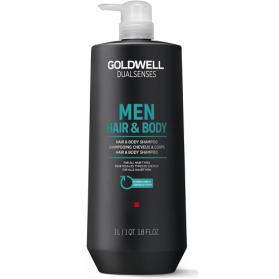 Goldwell Dualsenses Men Hair and Body Shampoo (1000ml)
