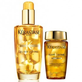 Kerastase Elixir Ultime (100ml) + ΔΩΡΟ Bain Elixir Ultime (80ml)