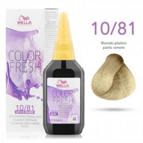 Wella Professionals Color Fresh 10/81 Κατάξανθο Σαντρέ Περλέ (75ml)