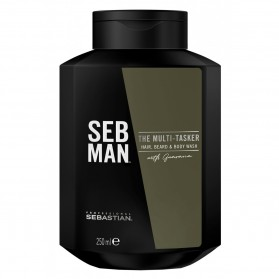 Sebastian SB The Multi-Tasker Hair,Beard & Body Shampoo (250ml)