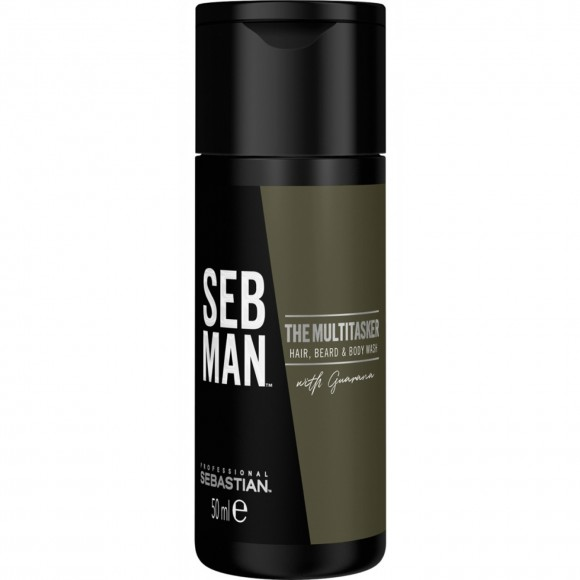 Sebastian SB The Multi-Tasker Hair,Beard & Body Shampoo (50ml)
