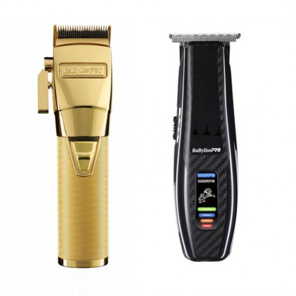 Babyliss Pro GOLDFX Professional Clipper FX8700GE (Δώρο Babyliss Pro Cordless Trimmer FX59)