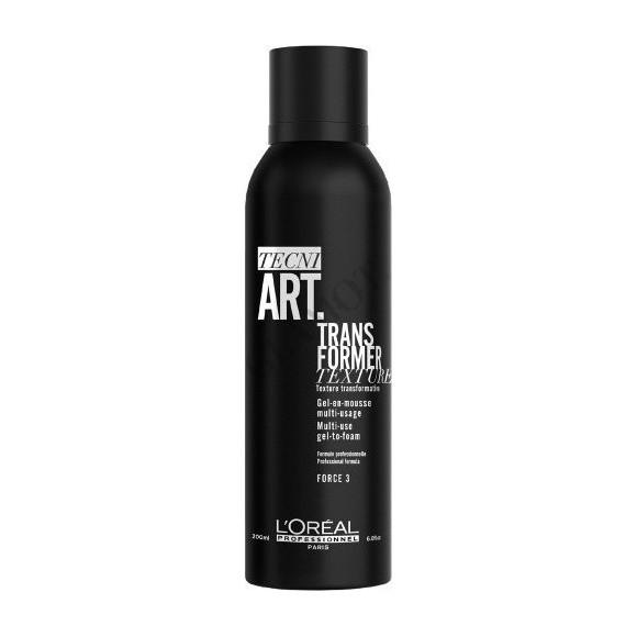 L'Oreal Professionnel Tecni Art Transfomer Texture Multi Use Gel to Foam (150ml)