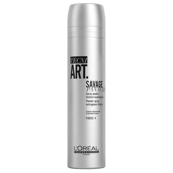 L'Oreal Professionnel Tecni Art Savage Panache Powdwer Spray Outrageous Texture(250ml)