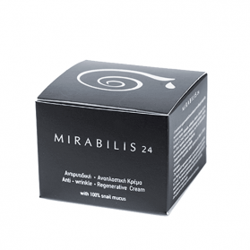 Mirabilis 24 Anti-Wrinkle Regenarative Cream 100% Snail Mucus (30ml)
