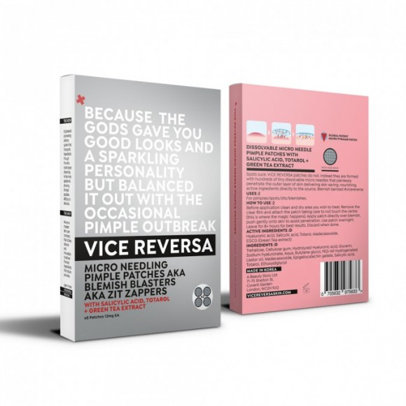Vice Reversa Micro Needling Pimple Patches