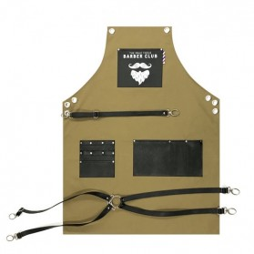 Novon Barber Apron Cuts & Shave 008 Oil Green/Black