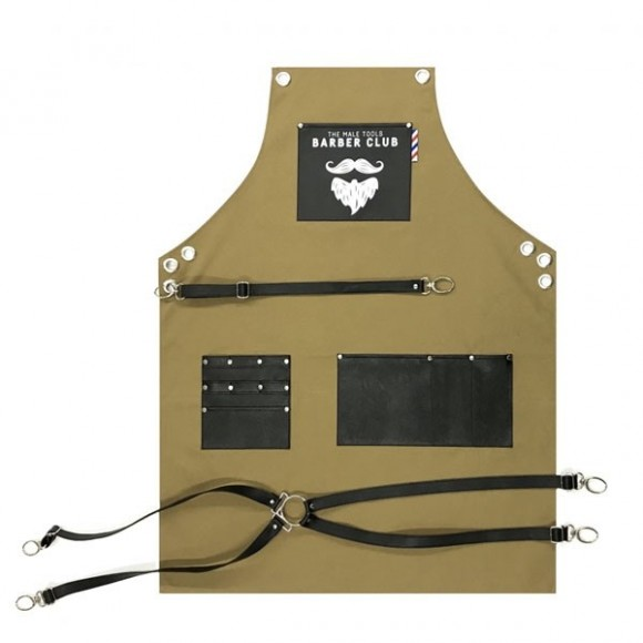Novon Barber Apron Cuts &Shave 008 Oil Green/Black