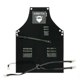 Novon Barber Apron Cuts & Shave 001 Black