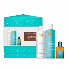 Moroccanoil Hydration Set From All Angles