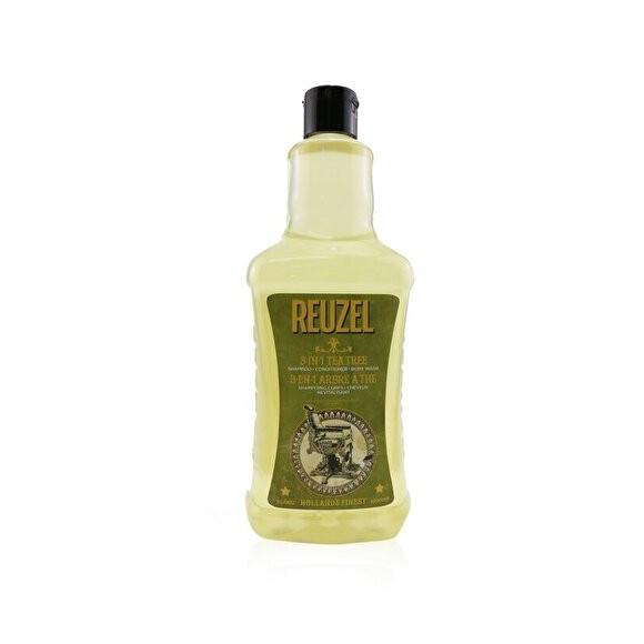 Reuzel  Tea Tree Three In One Shampoo-Conditioner-Body Wash 1000ml