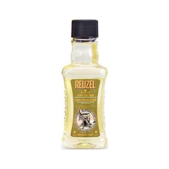 Reuzel  Tea Tree Three In One Shampoo-Conditioner-Body Wash 100ml