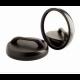 Καθρέφτης Κομμωτηρίου Με Λαβή  Σε Μαύρο Χρώμα