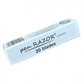 Ανταλλακτικές Λεπίδες Pen Razor (20 λεπίδες)