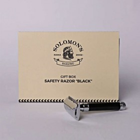 Solomon΄s Beard Safety Razor Black