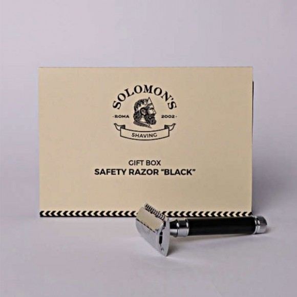 Solomon΄s Beard Safety Razor Black