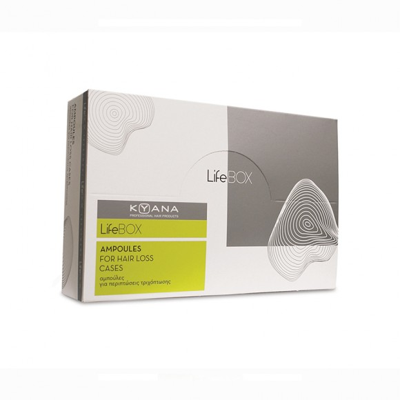 Kyana Lifebox For Hair Loss Cases Αμπούλες (40x10ml)