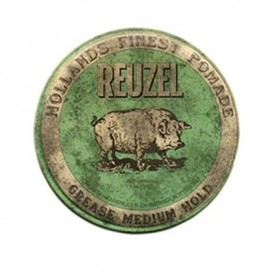 Reuzel Grease Medium Hold Pomade Green HOG (340g)