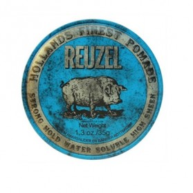 Reuzel Strong Hold Water Soluble High Sheen Pomade Blue PIGLET (35g)