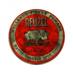 Reuzel Water Soluble High Sheen Pomade Red PIGLET (35g)