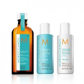 Moroccanoil Back to Basics Volume Set Shampoo(70ml) & Conditioner(70ml) & Oil Treatment Light(100ml)