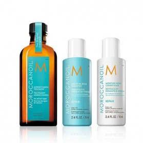 Moroccanoil Back to Basics Repair Set Shampoo (70ml) &Conditioner (70ml) & Oil Treatment (100ml)