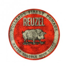Reuzel Water Soluble High Sheen Pomade Red PIG (113g)