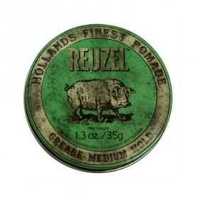 Reuzel Grease Medium Hold Pomade Green PIGLET (35gr)