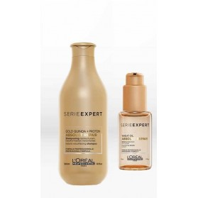 L'oreal SE Absolut Repair Gold Quinoa Conditioner(200ml) & L'oreal SE Absolut Repair Gold Wheat Oil(50ml)
