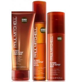 Paul Mitchell Ultimate Color Repair Set Conditioner(200ml) & Mask(150ml) &Thermal Protection(150ml)