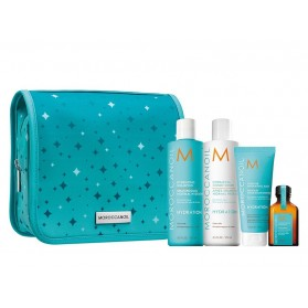 Moroccanoil Twinkle Twinkle Hydration Set (Shampoo 250ml,Conditioner 250ml, Intense Hydrating Mask 75ml,Oil Treatment 25ml)