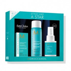Moroccanoil Style Like A Star Eurovision Volume Set(Light Treatment 25ml,Root Boost Spray 75ml,Volumizing mist 50ml)