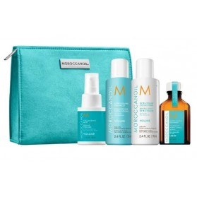 Moroccanoil Travel Kit Volume On the Go(Ext.Vol Shampoo 70ml,Ext.Vol Cond.70ml,Oil treat Light 25ml,Volume Mist 50ml)