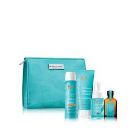 Moroccanoil Travel Kit Style On the Go(Dry Sh Dark T 62ml,Luminous Hairsr. 75ml,Hydr.Styl.Cr.75ml,Oil Treat.25ml)
