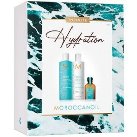 Moroccanoll Hydration Infinite Spring Kit(Hydr.Sham.250ml,Hydr.Cond.250ml,Oil Treat 25ml)