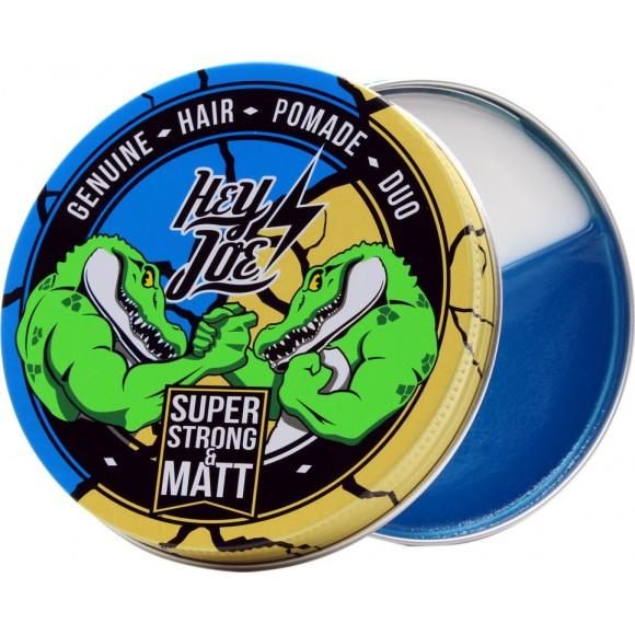 Hey Joe Pomade Duo Super Strong & Matt (100ml)