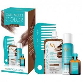 Moroccanoil Care Meets Color Cocoa Set (4τμχ)