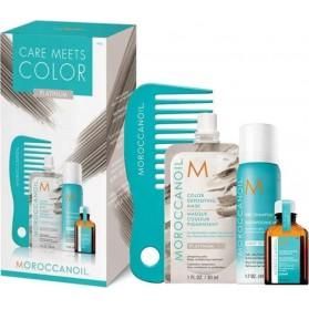 Moroccanoil Care Meets Color Platinum Set (4τμχ)