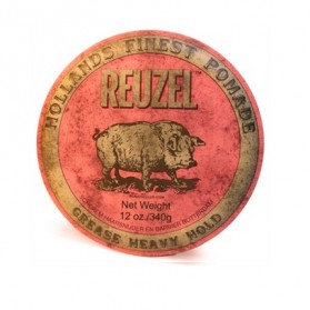 Reuzel Grease Heavy Hold Pomade Pink HOG (340g)