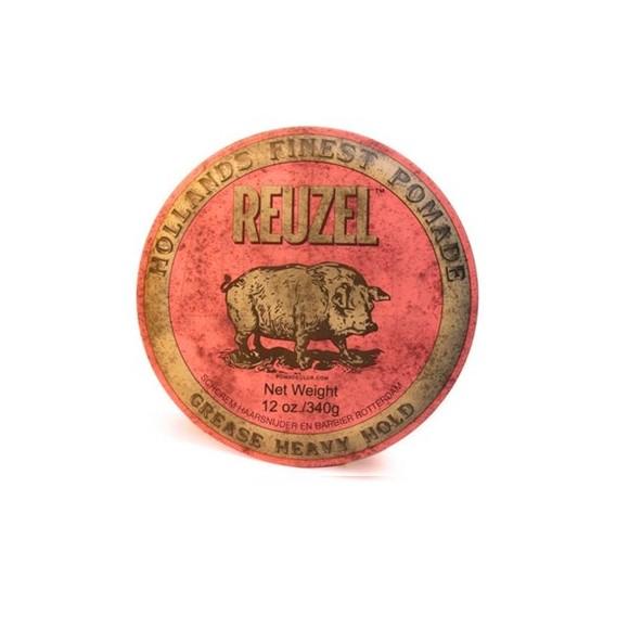Reuzel Grease Heavy Hold Pomade Pink HOG (340g)