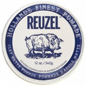 Reuzel Clay Matte Pomade Hog Water Soluble (340g)